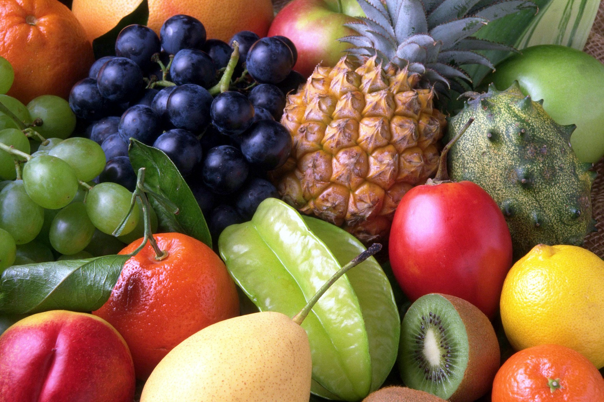 Gesunde Ernährung: Obstkorb