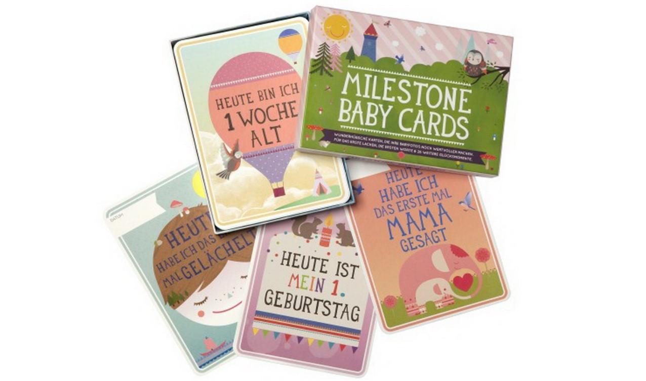Milestone Cards für's 1. Lebensjahr