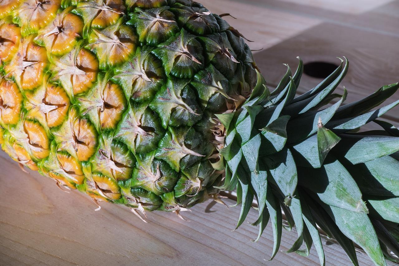 Ananas, Fötusvergleich 31./32. Schwangerschaftswoche
