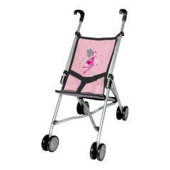 Puppenwagen rosa mit Feen