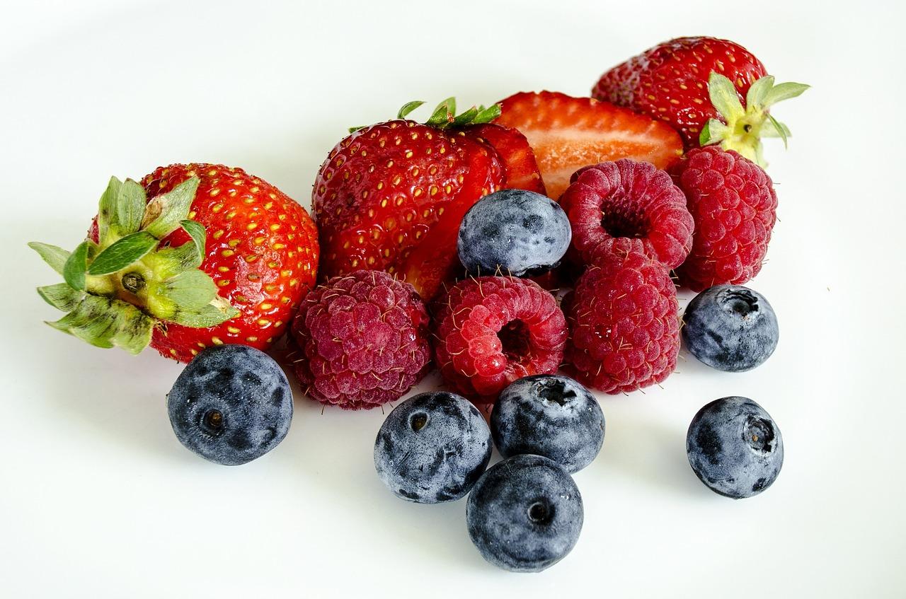 Erdbeeren, Heidelbeeren, Himbeeren 13./14. Schwangerschaftswoche