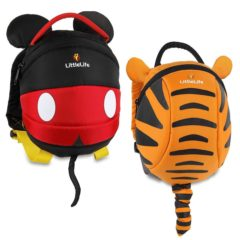 LittleLife Rucksack Mickey Mouse und Tigger Design