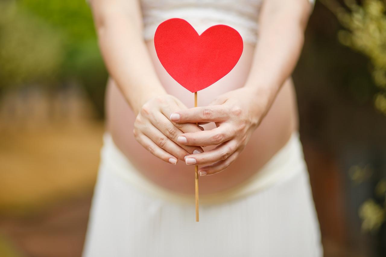 Babybauch, 33./34. Schwangerschaftswoche