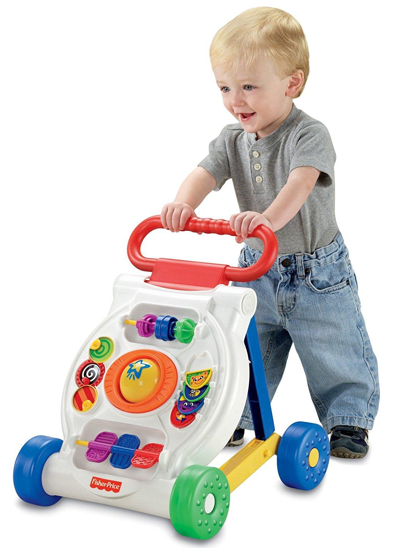 Lauflernwagen mit Baby