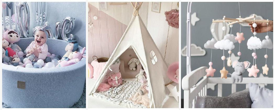 Banner: Kinderzimmer Trends 2020: Tipis, Baby Bällebad & Co