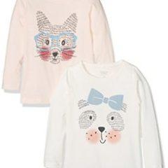 name it Shirts mit Hund/Fuchs Druck