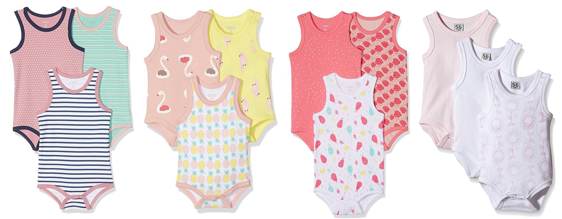 Bunte Bodys für Babys