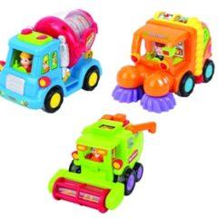 Zementmischer, Kehrmaschine, Mähdrescher - Spielfahrzeuge