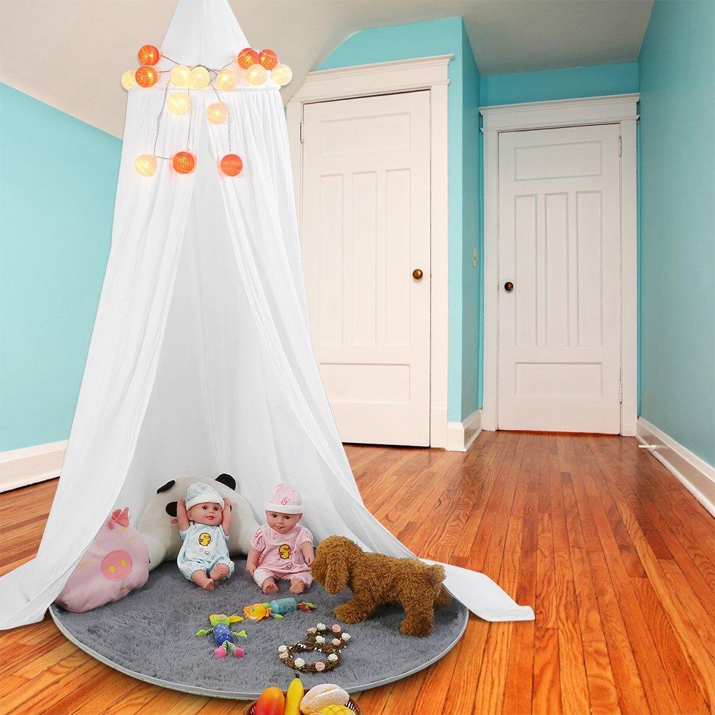 baldachin in verschiedenen farben. Black Bedroom Furniture Sets. Home Design Ideas