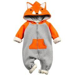 Babyoverall im Fuchs-Design