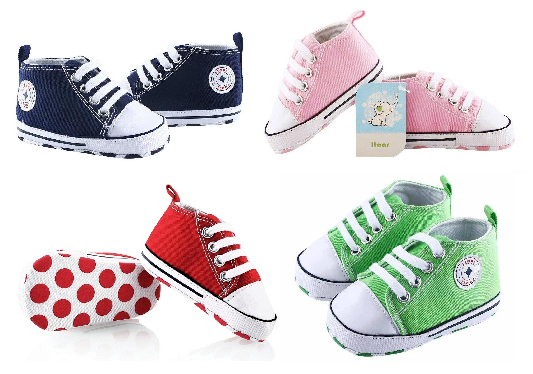 itaar baby sneaker schuhe krabbelschuhe laufschuhe blau rosa rot grün