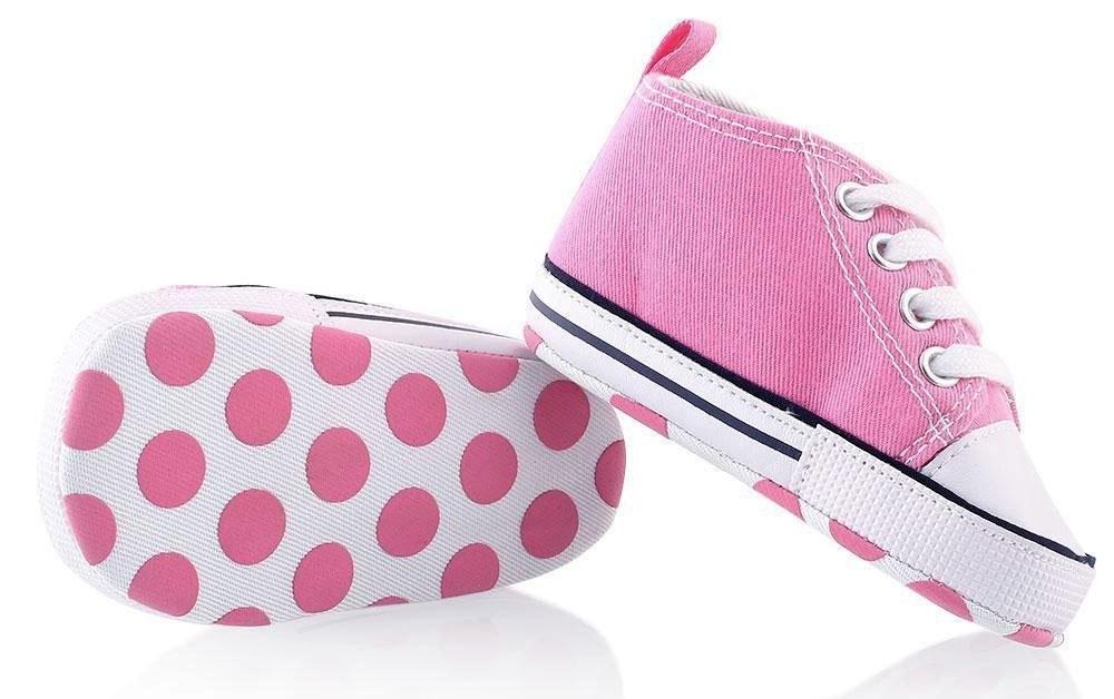 Itaar Baby Sneaker in rosa