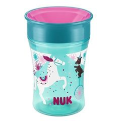 NUK Magic Cup mit Spezialrand
