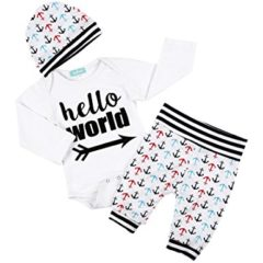 3-tlg. Set hello World