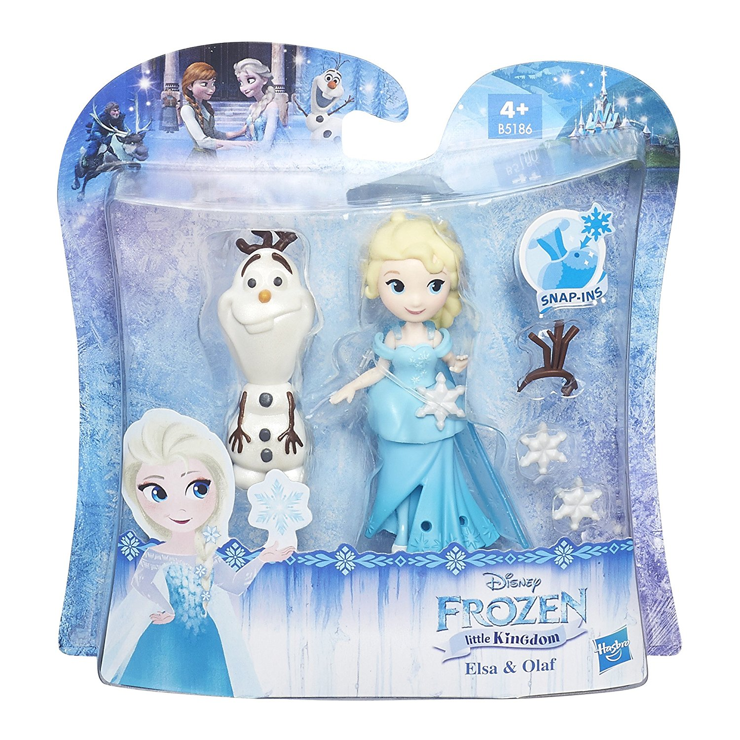 hasbro disney die eisk nigin freunde set elsa und olaf. Black Bedroom Furniture Sets. Home Design Ideas