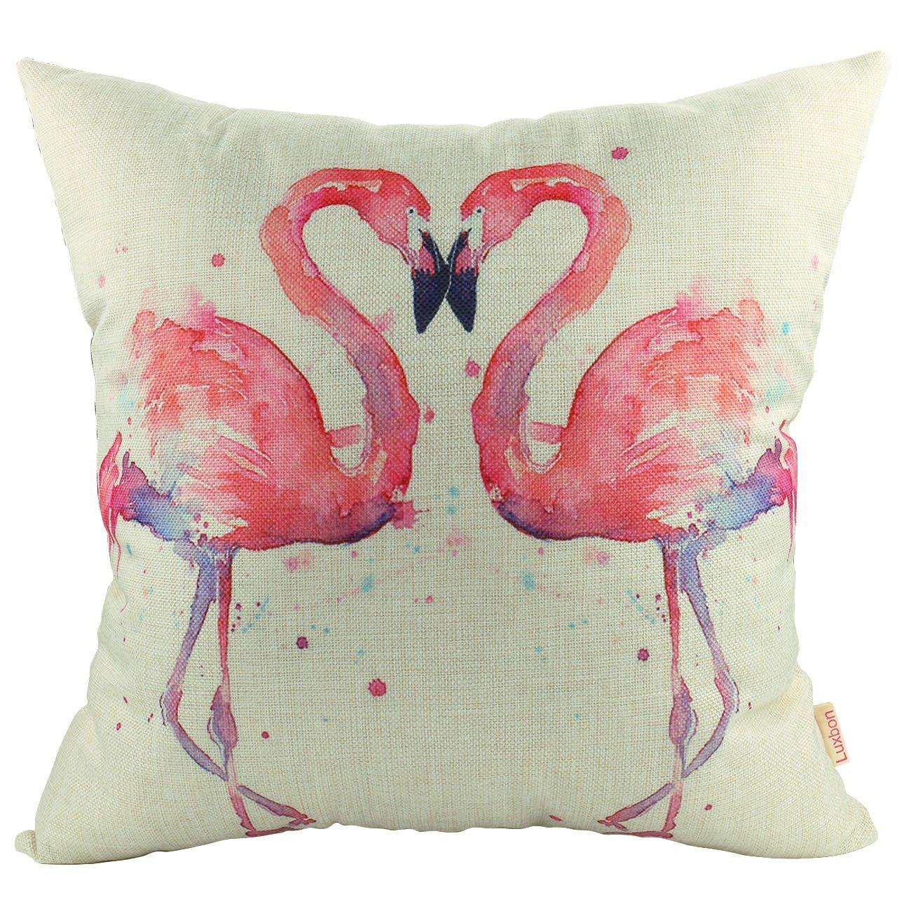 Flamingokissen Paar