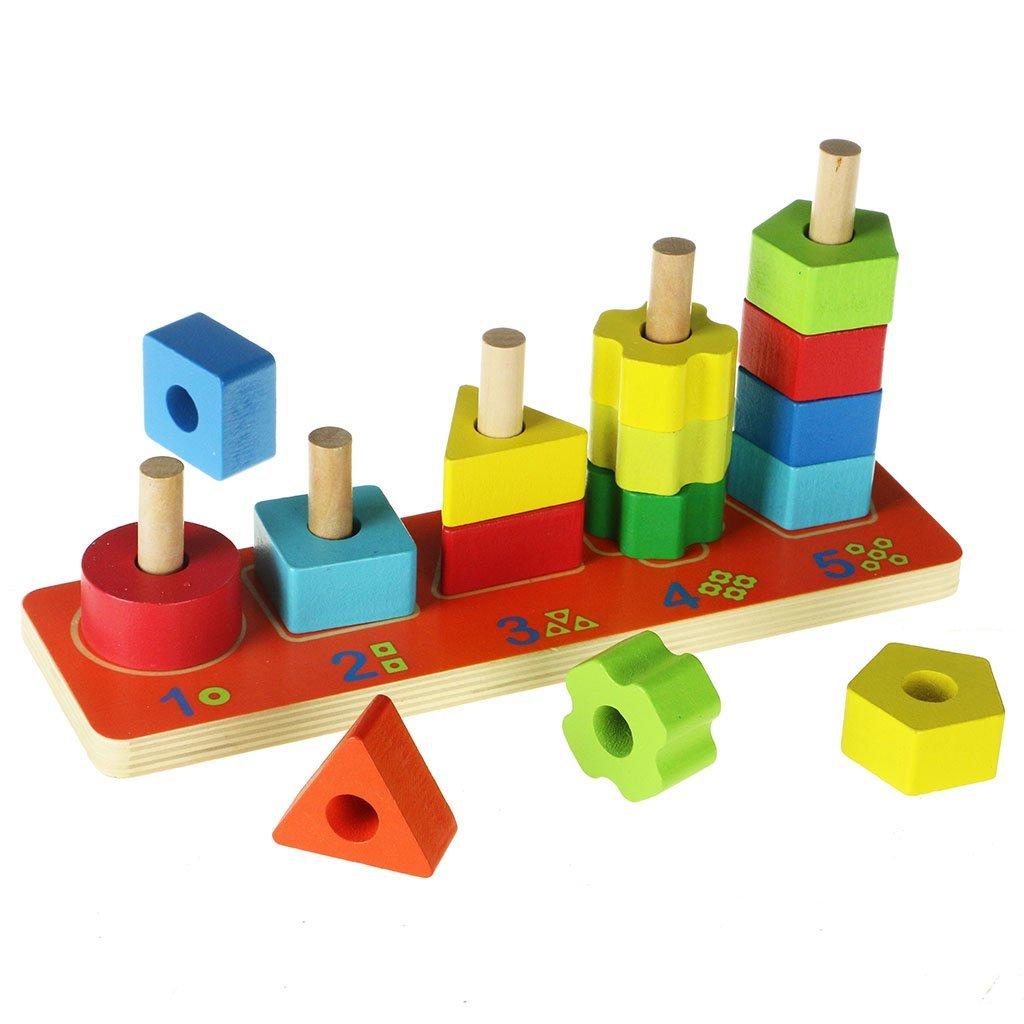 Steckspiel Formen und Zahlen