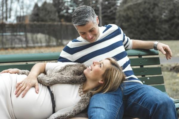 schwanger mit 40
