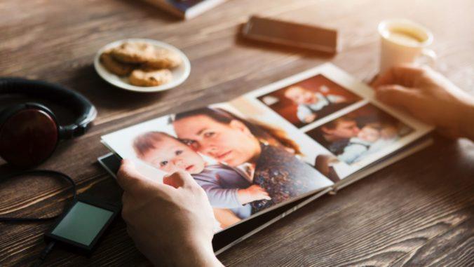 Fotobuch mit Familienbilder