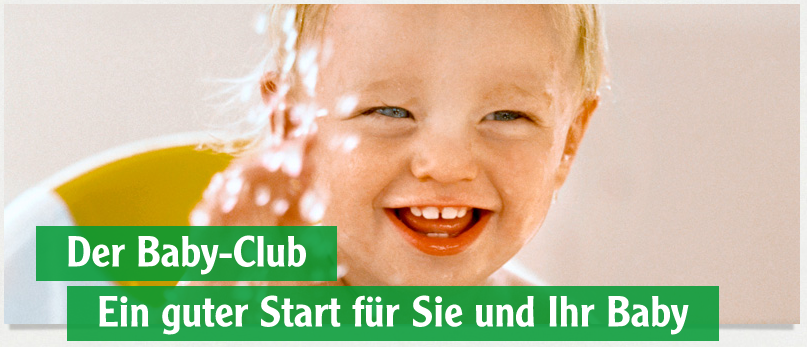 Glubus Teilnahme am Babyprogramm