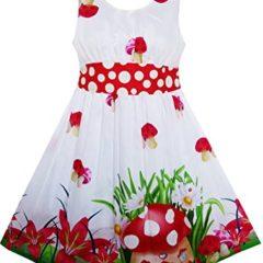Pünktchen Kleid Fliegenpilz