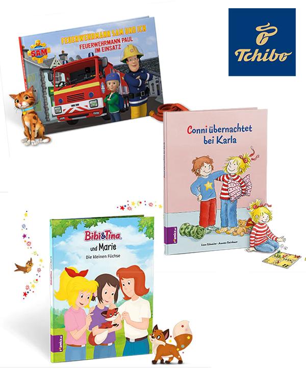 Tchibo personalisierte Bücher