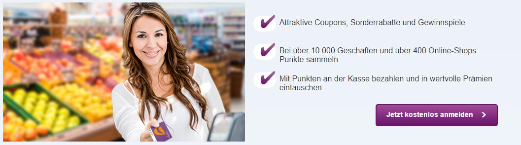 Deutschland Card Anmeldung