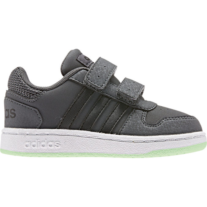 grauer adidas Schuh für Kinder