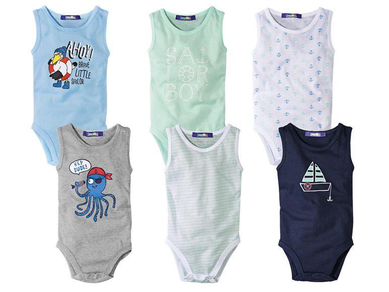 Baby Jungen Bodys für den Sommer