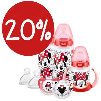 Mickey mouse Flaschen von NUK