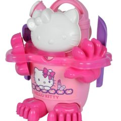 Hello Kitty Eimer Set in pink lila