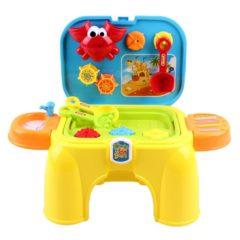 Bunter Spielzeugtisch für Kinder