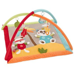 Fehn 067316 3-D-Activity-Decke Jungle Heroes