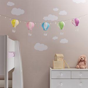 Heißluftballon Deko Kinderzimmer