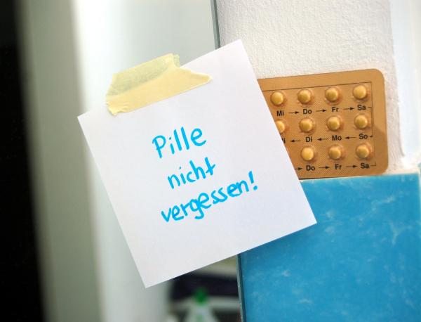 Post it Pille nicht vergessen