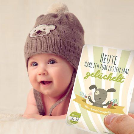 Meilenstein Babykarten