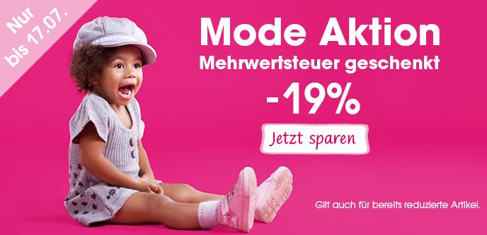 Babymarkt Rabattaktion