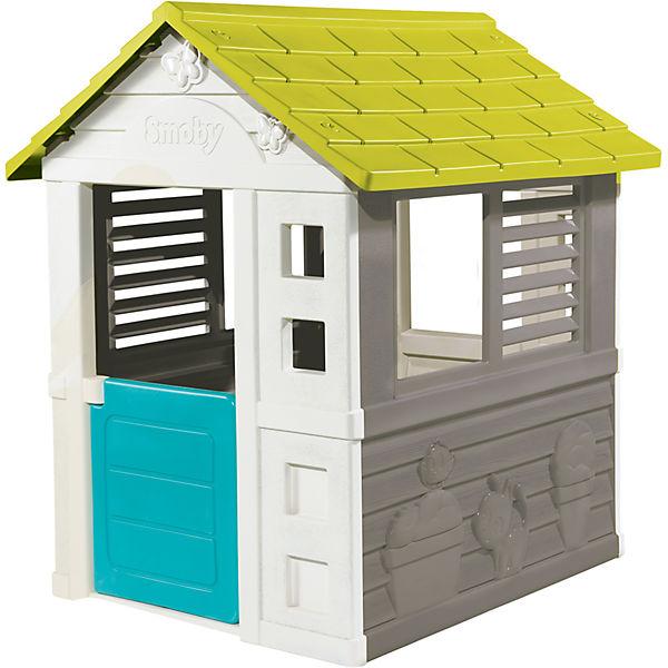 weiß, grünes Haus von Smoby