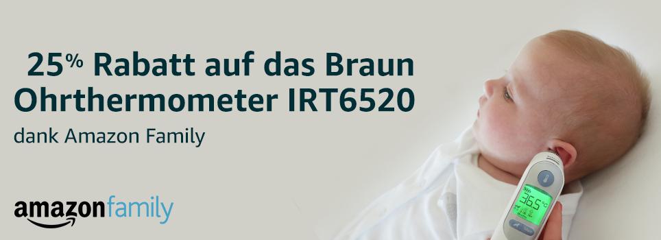 Braun Thermometer 25%