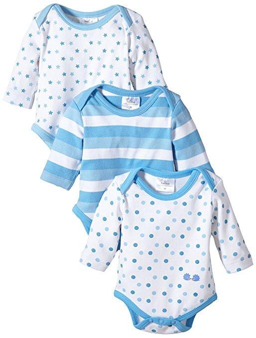 3er Set Bodies blau