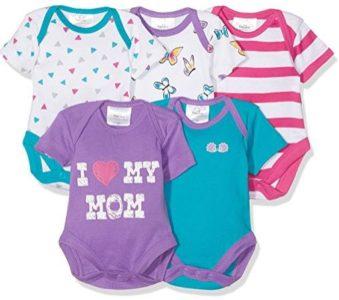 Bunte Baby Bodies