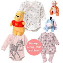 Winnie Pooh und Bambi Artikel bei Ernstings