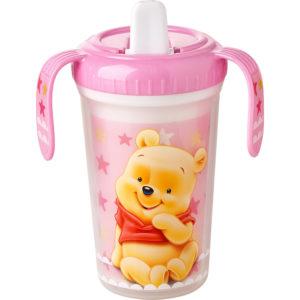 Winnie Pooh Becher rosa