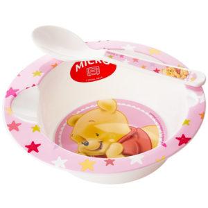 Winnie Pooh Tellerchen rosa