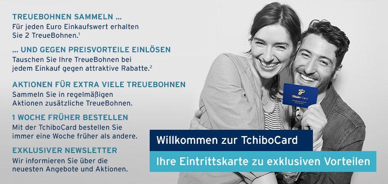 TchiboCard Vorteile