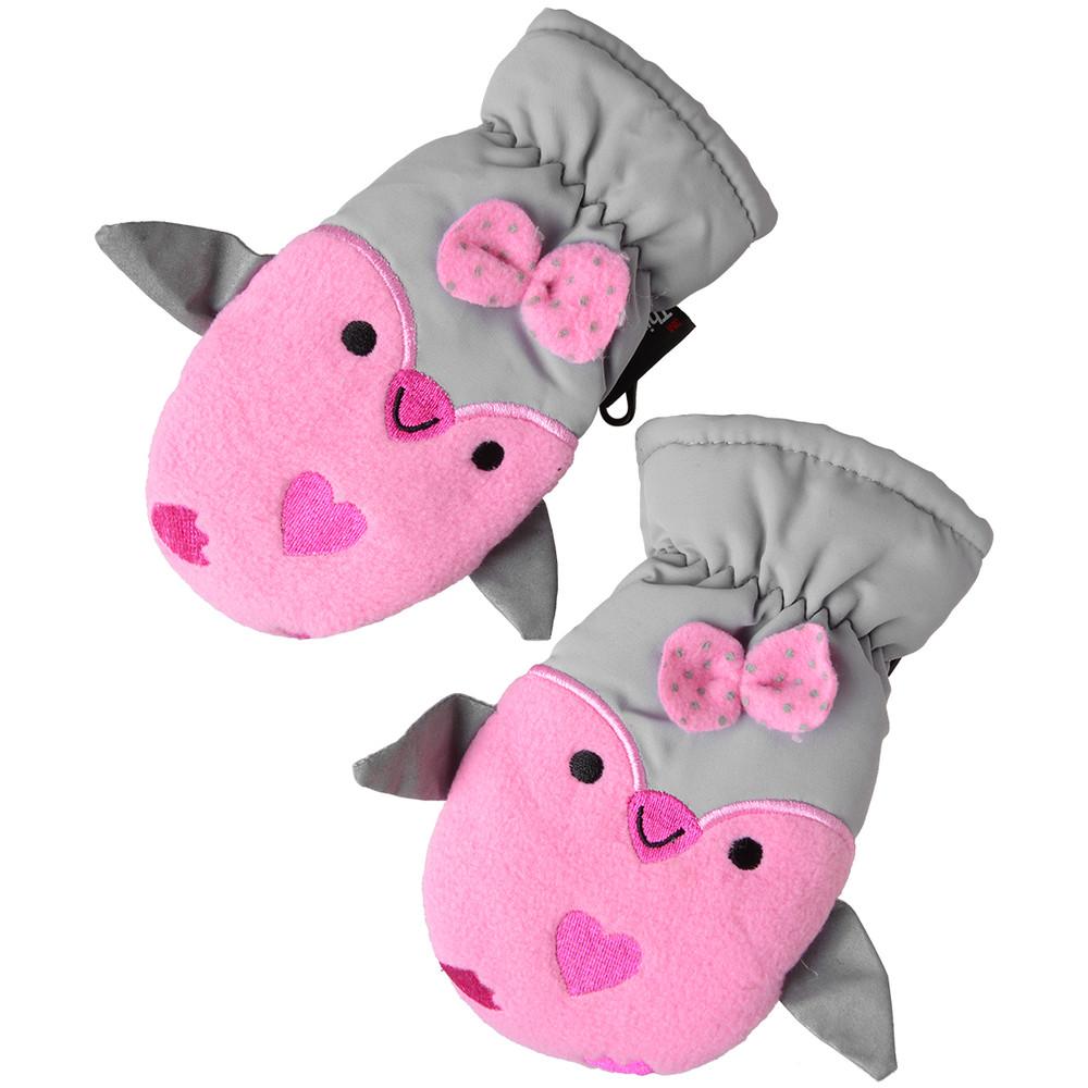 baby Fäustlinge in rosa