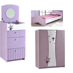 Möbel Zusammenstellung in rosa