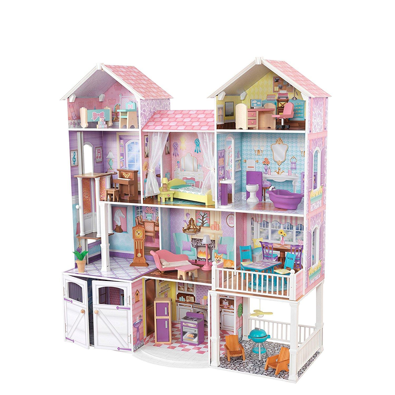 komplettes Puppenhaus