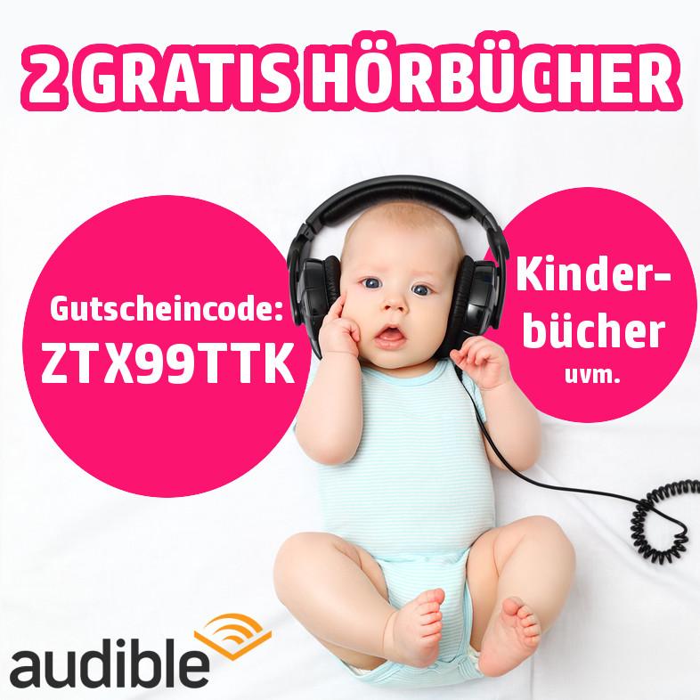Audible - 2 Hörbücher gratis