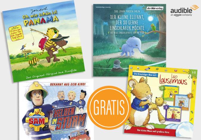 Kostenlose Kinderhörbücher von Audible